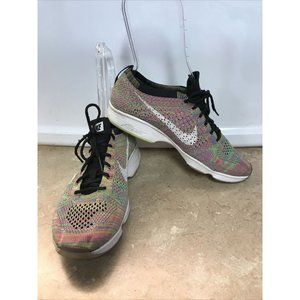 Nike Flyknit Zoom Agility Multicolor Running Gym S